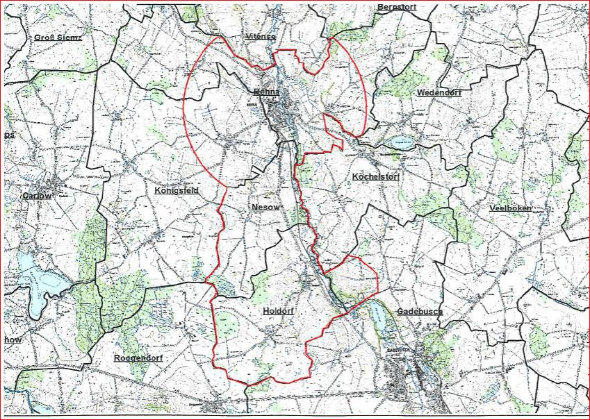 Nordwestmecklenburg: AFB-Sperrbezirk Rhena
